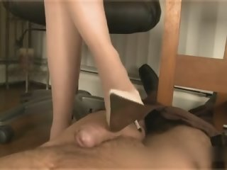 Office Footjob