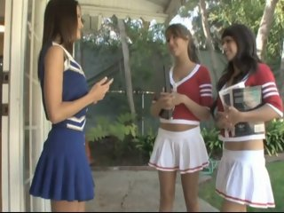 Seducing a cheerleader.