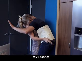 MYLF - Big Dick Stepson Cums..